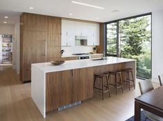 Shands Studio have designed the San Anselmo House in Marin County, California.