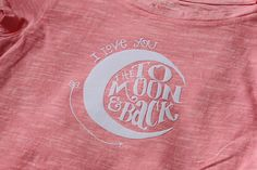 Making a T-shirt with your silhouette & heat transfer material