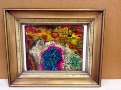 #art Vintage Rare European Abstract (1960's) Signed - Saetti please retweet