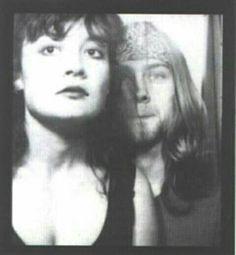 Kurt and his then girlfriend, Tracy Marander