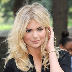 Les secrets beauté de Kate Upton ❤ liked on Polyvore featuring beauty products and hair