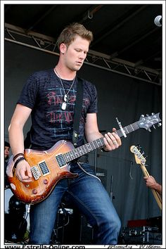 Brian Kelley from the Florida Georgia Line