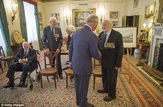 Prince Charles meets Sq Leader Geoffrey Wellum, 95. The heir to the throne spoke to Geoffr... Veterans of the Battle of Britain had tea with the Prince of Wales and Duchess of Cornwall, with one describing it as one of 'the privileges of the year'. Battle of Britain survivors - July-October 1940 - are known as The Few. Four of the remaining veterans dined at Clarence House in central London. Prince Charles, Patron of The Battle of Britain Fighter Association.