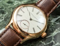 """Wrist-Time Review of the Laurent Ferrier Galet Classic Tourbillon Double Spiral. Discover this """"under the radar"""" tourbillon and see how it went through one week of SIHH. All in our latest article..."""