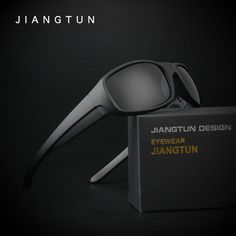 JIANGTUN 2017 New Black Polarized Sunglasses Men Sun Glasses Brand Designer Goggle Driving Fishing Oculos Gafas De Sol