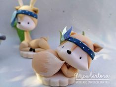 Clay Crafts, Diy And Crafts, Tribal Fox, Abc Party, Baby Birthday Cakes, Fondant Cake Toppers, Sugar Craft, Decorated Jars, Polymer Clay Creations