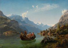 Brudeferd i Hardanger d'Adolph Tidemand et Hans Gude
