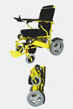 NEW Innovation in Electric folding wheelchair.Ideal for caravans,motorhomes,travelling,foldaway electric mobility...