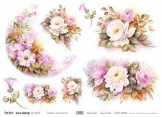 carta decoupage fiori - Szukaj w Google