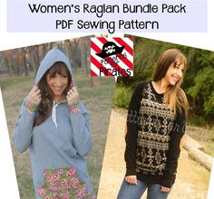 This beginner knit pattern has all the style you need in a soft comfortable shirt! It is a loose fitting raglan sleeve tee and comes with LOTS of options! Sleeve options: short, 3/4, long with cuf...