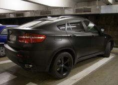 matte black bmw x5 ok i want this