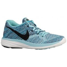separation shoes 3aec1 14a23 Nike Flyknit Lunar 3 - Women s - Running - Shoes - Copa Blue Lagoon Summit  White Black-sku 98182404