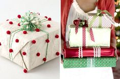 Creative gift wrapping ideas christmas