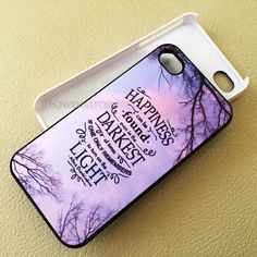Happiness Harry Potter iPhone SE 6s 5s 5c 4s 6 Plus case, iPod 4 5 6…