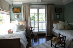 Our bedding, fabrics and decor at the Hampton Designer Showhouse, on @Habitually Chic!