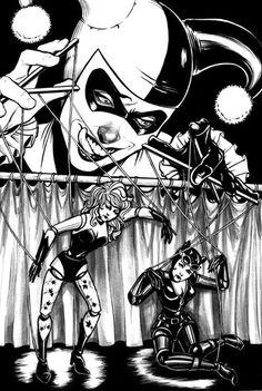 Gotham City Sirens by Carli Ihde *
