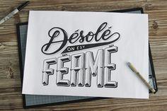 Inspiração Tipográfica #127 - Choco la Design | Choco la Design | Design é como chocolate, deixa tudo mais gostoso.