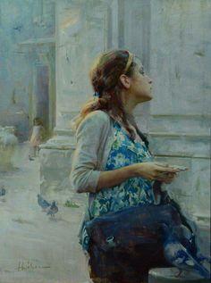 Artist - Huihan Liu American Painter.