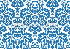 Opulent Blue designed by Laschon Robert Paul, vector download available on patterndesigns.com
