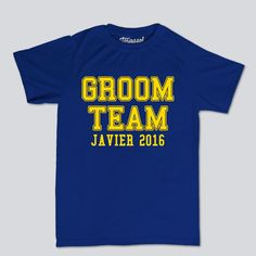 Playera | Team Groom