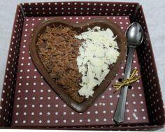 Coração Diet, chocolate diet e brigadeiro diet para comer de colher.