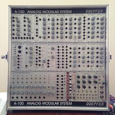 MATRIXSYNTH: Doepfer A-100 Eurorack Analog Modular Synthesizer ...