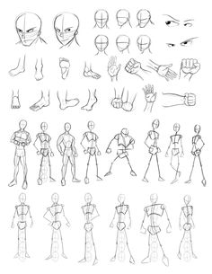 Drawing Practice Sheet 2 by Obhan on DeviantArt