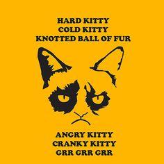 Grumpy Cat iPhone Case With Poem
