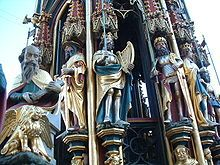 Neuf Preux de Nuemberg (14°s)- CHARLEMAGNE, La figure de Charlemagne est idéalisée dans la culture médiévale, notamment au travers des chansons de geste, dans lesquelles il fait partie des NEUF PREUX.