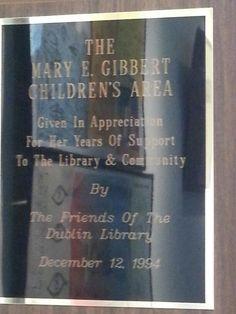 Children's corner, A Century of Service exhibit. Dublin Library, Exhibit, Corner
