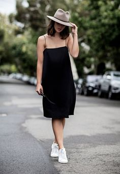look black dress sneakers