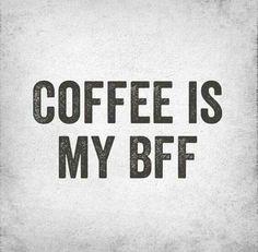 Coffee doesn't judge. Coffee listens. #coffee #bff #funny #humor #caffeine