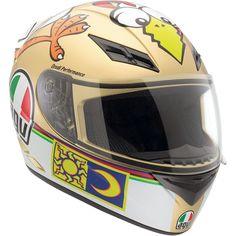 AGV K3 Helmet Chicken