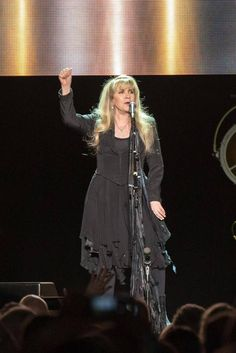 "Stevie onstage ~ ☆♥❤♥☆ ~     on  November 11th, 2016, in the Time Warner Cable Arena, in Charlotte, NC,  performing and showing ultimate ""Girl Power"" during her '24 Karat Gold' 2016 tour  ~  https://www.stevienicksofficial.com/news/stevie-nicks-announces-27-city-north-american-24-karat-gold-tour-with-pretenders"