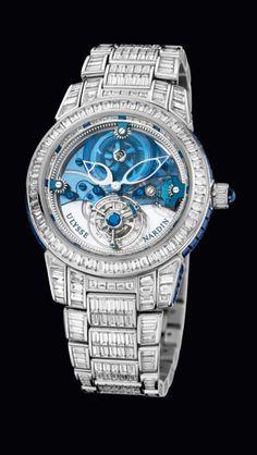 Watches of Distinction: Ulysse Nardin Wrist Watch. Beautiful timepiece!