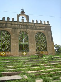 The 17th-century Church of St. Mary of Zion Axum, Ethiopia