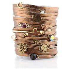 LoLo Jewels - Copper Metallic Charm Bracelet