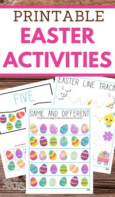 It's convenient to have flexible supporting elements for your homeschool needs like these free printable Easter Printable Activities Pack. #easterprintables #printableworksheets #freeworksheetsforeaster #3boysandadog Easter Worksheets, Easter Printables, Party Printables, Easter Bunny Colouring, Bunny Coloring Pages, Mickey Mouse Parties, Minnie Mouse, Easter Activities For Kids, Funny Tattoos