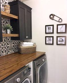 Nice 85 Gorgeous Laundry Room Tile Design Ideas https://roomodeling.com/85-gorgeous-laundry-room-tile-design-ideas