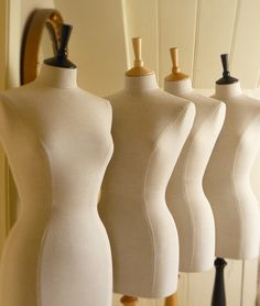 Corset Laced Mannequin Dressform Display by CorsetLacedMannequin,