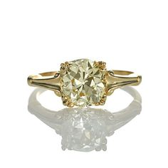 Leigh Jay Nacht Inc. - Replica Art Deco Engagement Ring - 3139-08