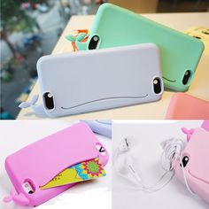 New 3D Cute Whale Silicone Rubber Soft Card Case Cover for iPhone 6/6S/6S Plus #UnbrandedGeneric