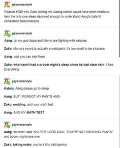 avatar the last airbender Sleep deprived Zuko and aang Avatar Aang, Avatar Funny, Team Avatar, Aang Funny, Zuko And Katara, The Last Avatar, Avatar The Last Airbender Art, Clueless, Dislike