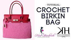 "Tutorial Step by Step CROCHET BAG ""BIRKIN"" | PUNTO OBLIQUO || Katy Handmade"