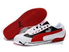 86ebd66cad5 Discover the Men s Puma Speed Cat In White Red Black Lastest collection at  Pumacreeper. Shop Men s Puma Speed Cat In White Red Black Lastest black