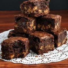 Nutter Butter ChocolateChip Brownie
