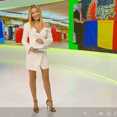 Much more on tvmagia.ro Beautiful Legs, Looking Back, Sexy Women, Shirt Dress, Woman, Shirts, Dresses, Fashion, Vestidos