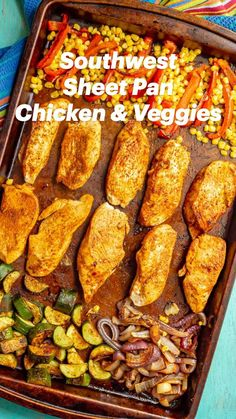 Chicken Breast Recipes Healthy, Easy Healthy Recipes, Easy Dinner Recipes, Quick Easy Healthy Dinner, Chicken And Veggie Recipes, Healthy Family Dinners, Easy One Pot Meals, Healthy One Pot Meals, Clean Eating Recipes