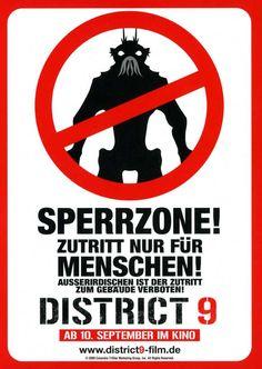 District 9 (German) 27x40 Movie Poster (2009)