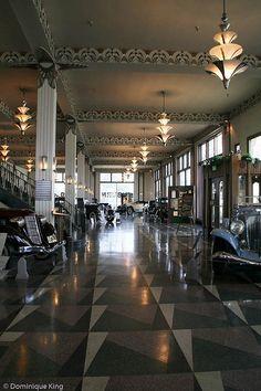 Auburn Cord Duesenberg Musuem, Art Deco